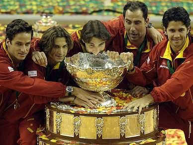 Espanha faz o pleno na Taça Davis