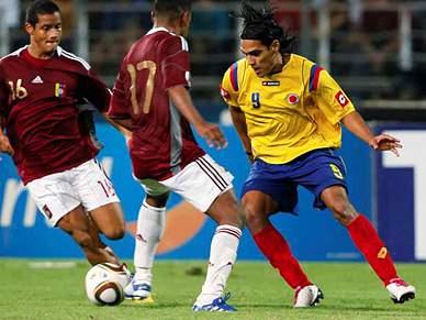 Falcao foi titular na vitória colombiana