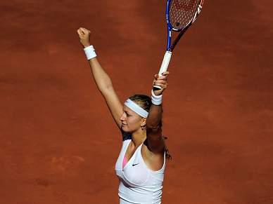 Kvitova surpreende e triunfa em Madrid