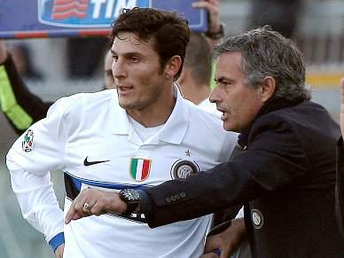 Zanetti quer convencer Mourinho a ficar