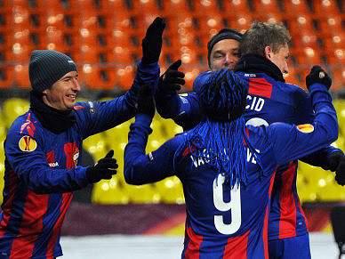 CSKA descontraído após incidente na Rússia