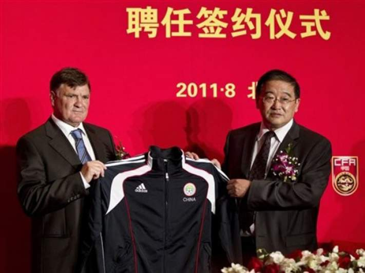 Camacho vai treinar seleção da China