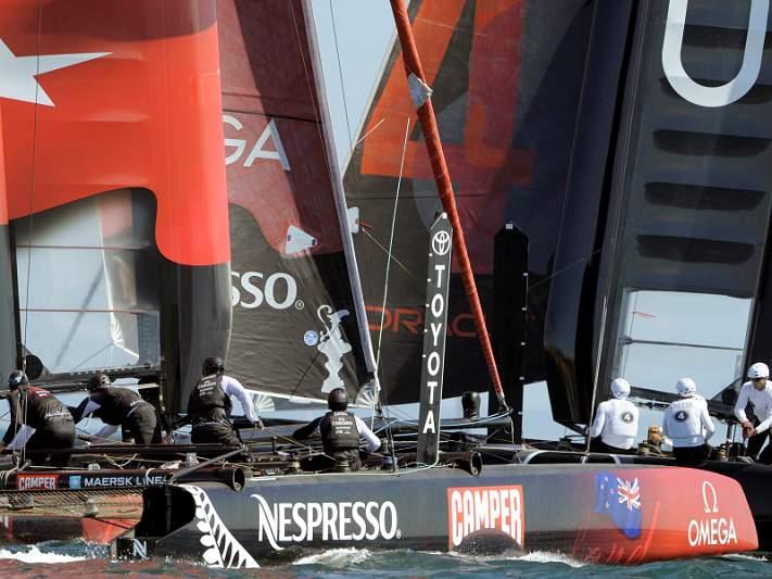 Barco da China Team vira-se nos treinos