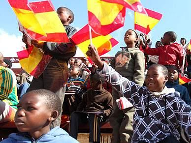 Futebol, Potchefstroom e pata negra