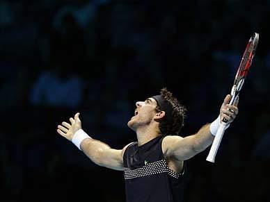 Del Potro volta a bater Federer