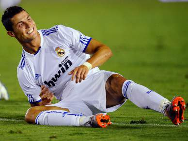 Febre afasta Ronaldo