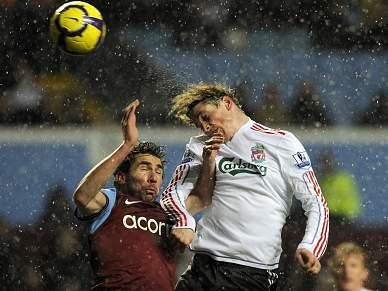 Torres frustrado no Liverpool