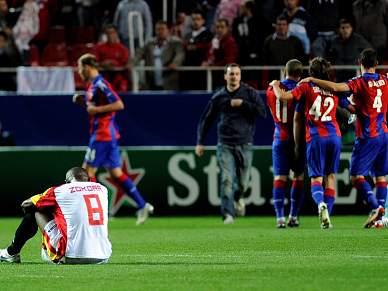 CSKA Moscovo deixa Sevilha em depressão