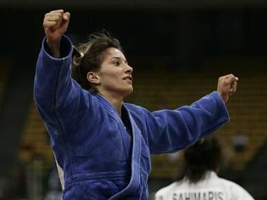 Telma Monteiro conquista prata em -57 kg
