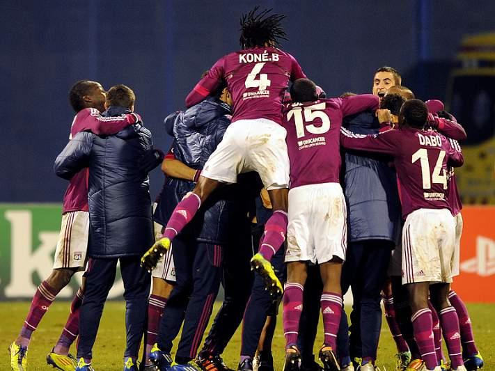 Lyon é o primeiro finalista da Taça da Liga
