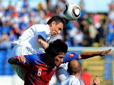 Eslováquia vence Costa Rica por 3-0 em jogo de preparação