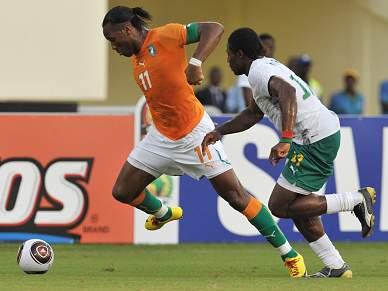 Costa do Marfim joga particular com tempo extra de 45 minutos para testar suplentes