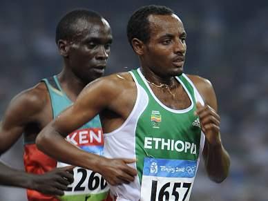 Etíopes favoritos no Crosse de Oeiras