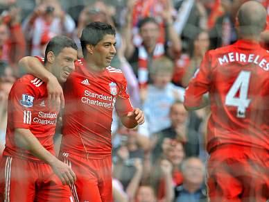 Liverpool aplica mão cheia ao Birmingham