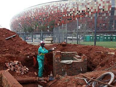 África do Sul em obras para o Mundial