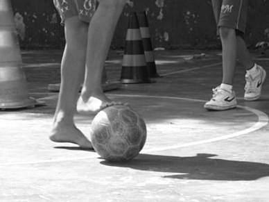 Sem público para fechar a sétima edição do Futebol de Rua