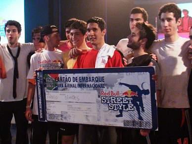 Fábio Simões vence Red Bull Street Style