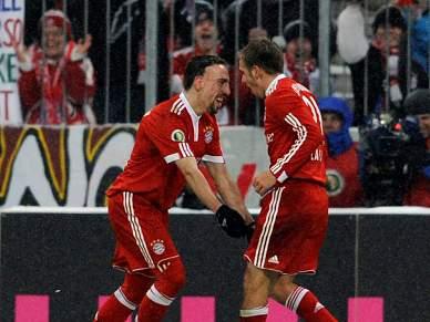 Bayern qualifica-se no dia do regresso de Ribéry