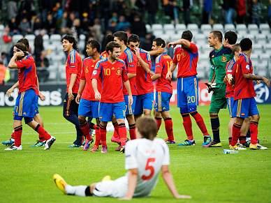 Espanha na final do Europeu