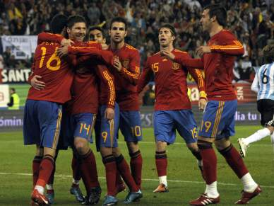 """""""A melhor Espanha"""" chegou à final"""