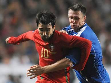 Liedson destaca bom resultado, Deco quer golo em Zenica