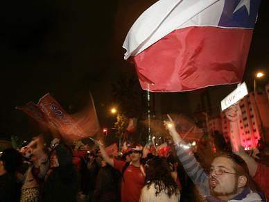 Dois feridos e 55 detidos no Chile