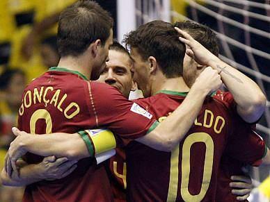 Jogadores eufóricos com final no Europeu