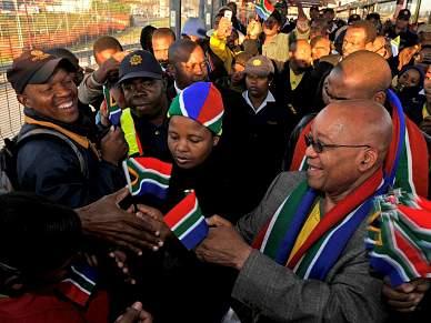 Presidente sul-africano diz que torneio será um sucesso económico