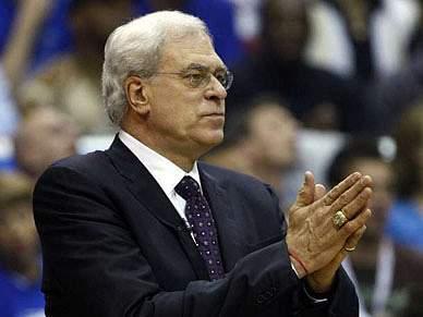 Phil Jackson conseguiu vitória recorde pelos Lakers