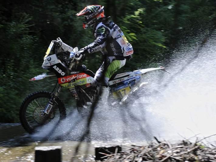 Paulo Gonçalves cai para o 2º lugar