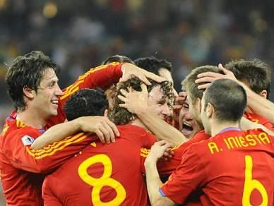 'La Roja' poupa Sergio Ramos e Torres