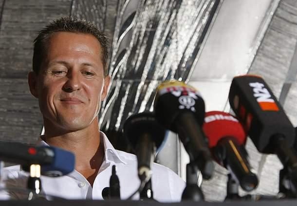 Schumacher na Mercedes em 2010