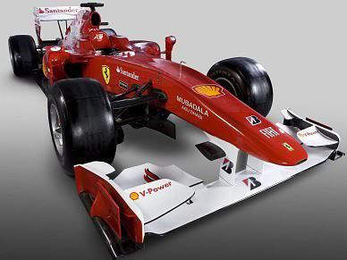 Ferrari apresenta F10 para recuperar tradição ganhadora
