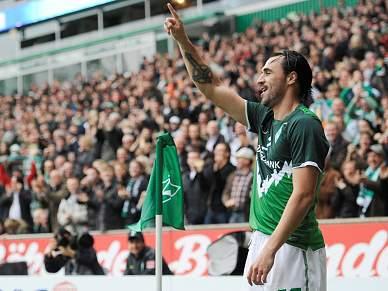 Hugo Almeida marca, mas Werder Bremen perde