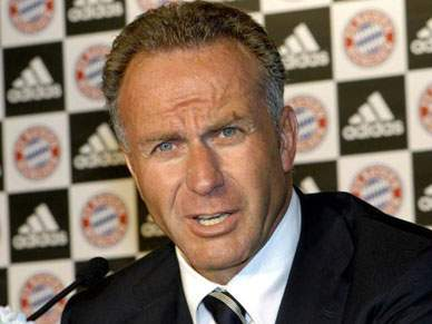 Rummenigge assume crise do Bayern