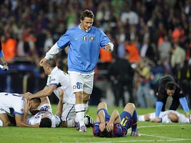 Sabotagem tira Barça-Inter do ar em Madrid