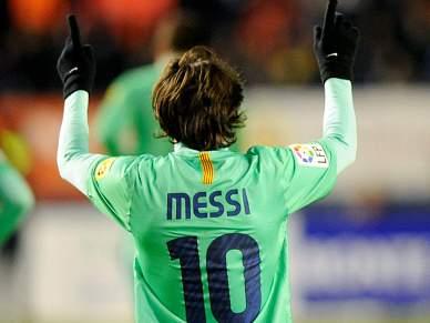 Messi brilha na vitória do Barcelona