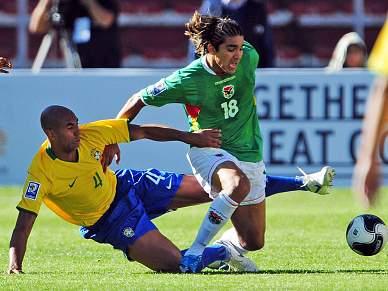 Bolívia surpreende Brasil
