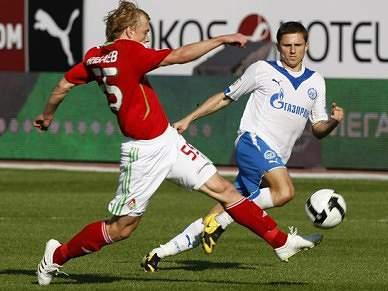 Zenit acusa a polícia de atingir jogador com um