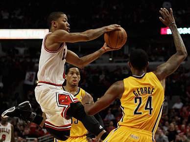 Chicago Bulls batem Indiana Pacers e garantem meias-finais