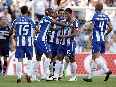 FC Porto apresenta-se a todo gás