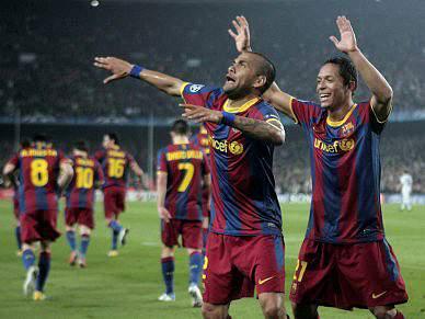Barça impiedoso faz mão cheia de golos