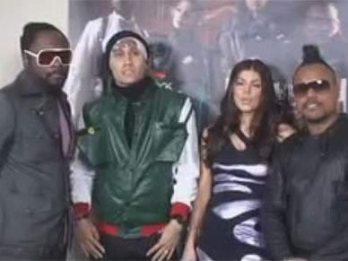 Black Eyed Peas no concerto de inauguração