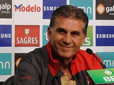 Carlos Queiroz aponta às meias-finais