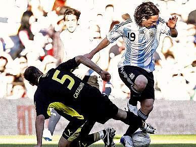 Fábregas e Xavi convocados para particular com a Argentina