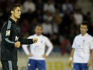 Ronaldo marca na goleada do Real Madrid