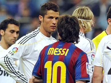 Camisolas de Messi e Ronaldo e gravata de Mourinho em leilão