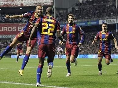 Barcelona favorito à vitória