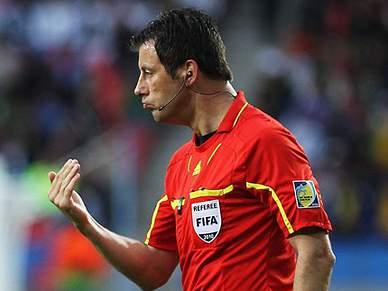Wolfgang Stark arbitra Real Madrid - Barcelona