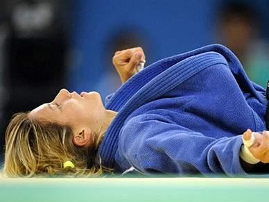Telma Monteiro vence medalha de bronze